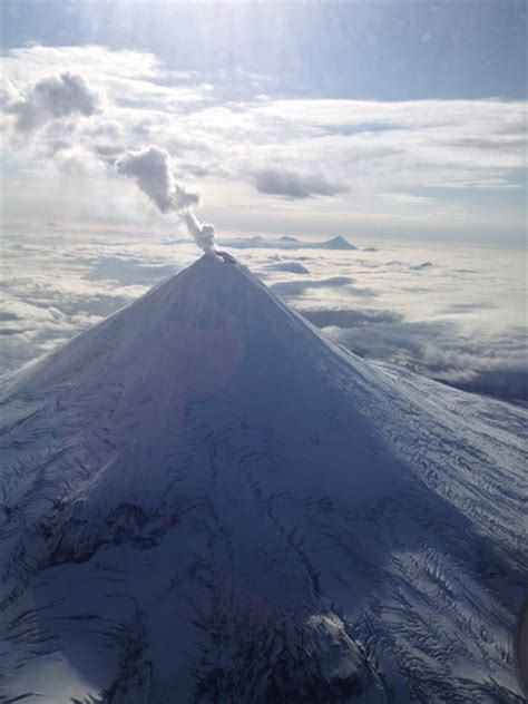 shishaldin volcanos alert status upgraded  unusual