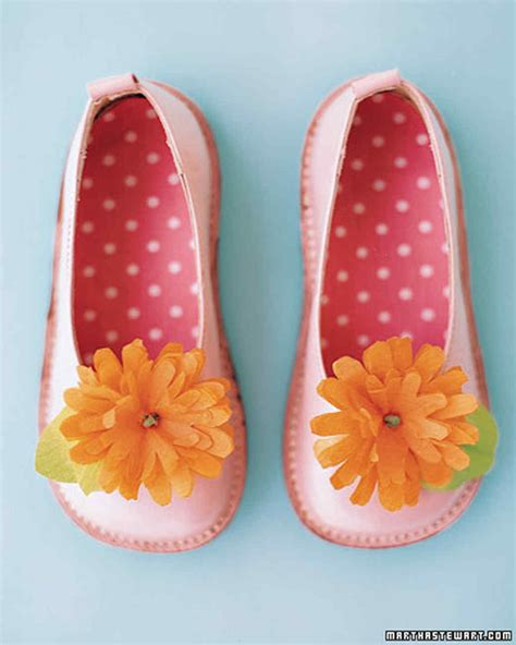 flowers shoes easter crafts and activities martha stewart