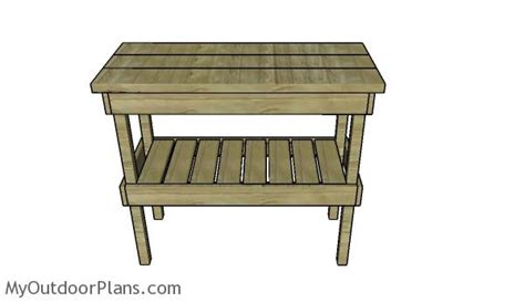building a bbq bench bbq table plans myoutdoorplans free woodworking plans