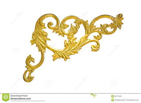 frame pattern gold old antique gold frame stucco walls greek culture roman