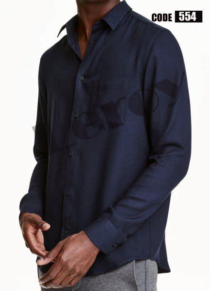 Jaket Sweater Pria Ddn 554 jual kemeja pria lengan panjang warna hitam leroy 554