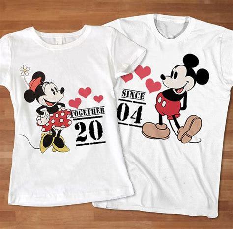 couple t shirts buscar con google camisetas san love mickey minnie couple tshirt custom tshirt by