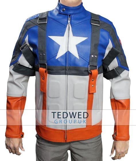Jacket Captain America captain america avenger jacket tedwed