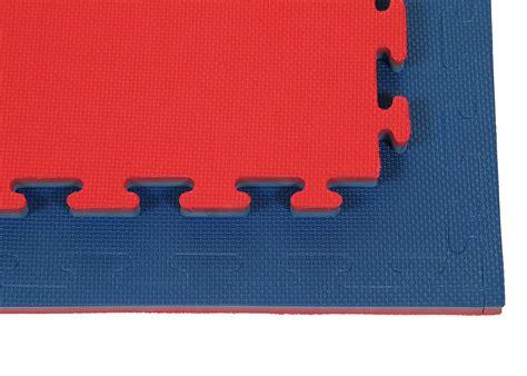 Blue  Red Mm Jigsaw Mat Foamssports Gym Flooring