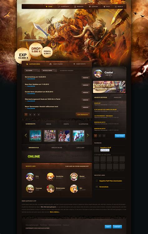 game website layout gaming layout wip by cpl92 on deviantart
