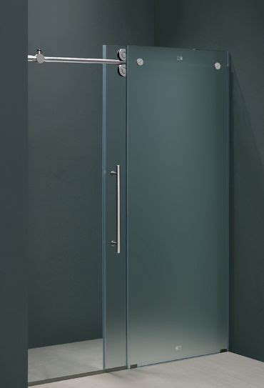 glass sliding bathroom door 25 best ideas about sliding shower doors on pinterest