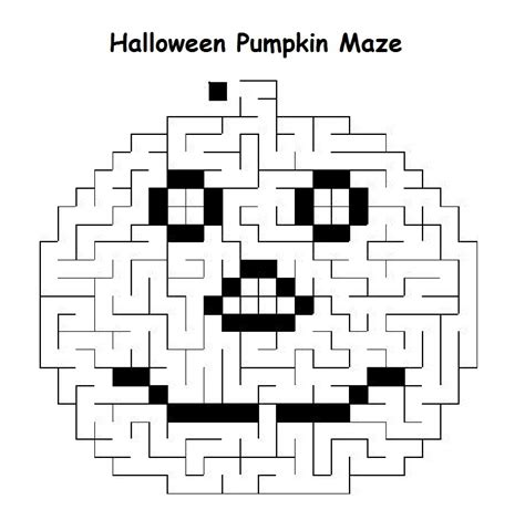 printable halloween maze difficult free coloring pages of middle school word search