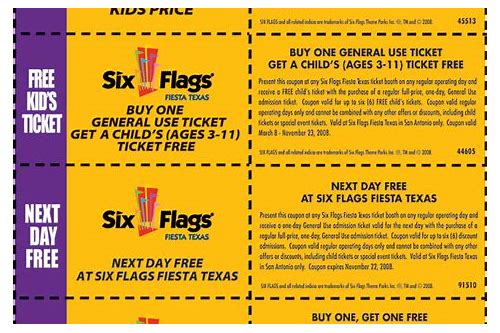 six flags season pass coupons new england