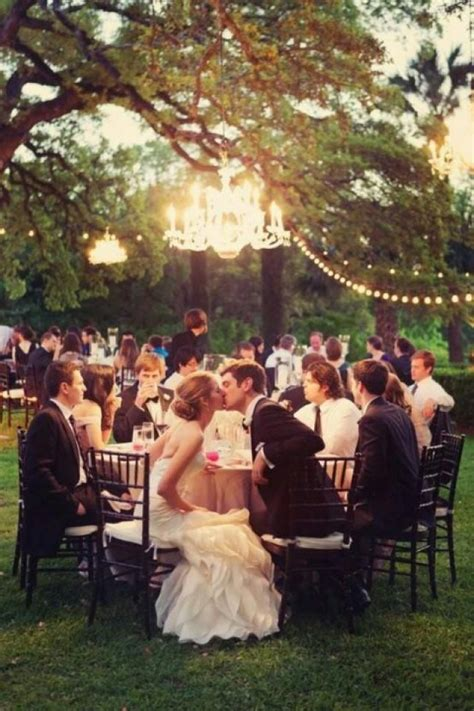outdoor wedding outdoor chandelier wedding 2046738