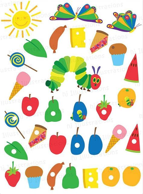 hungry caterpillar templates free best 20 hungry caterpillar ideas on