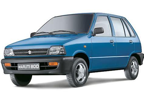 Suzuki 800 Car Maruti Suzuki 800 Hatchback Car Discontinued In India
