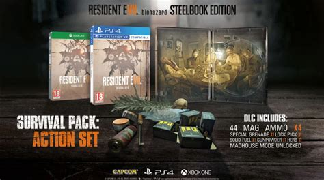 resident evil 7 biohazard guide book packed with resident evil 7 walkthroughs reviews cheats secrets and much more books retailer offers exclusive steel book for resident