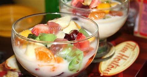 resep salad buah spesial enak dan segar sebuah inspirasi resep sop buah segar resep masakan 4