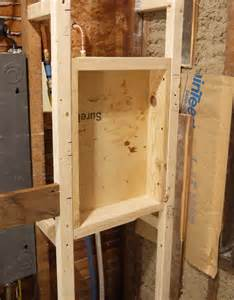 How To Frame A Shower by Framing Up And Adam Ries