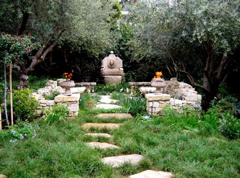 secluded backyard ideas 18 mediterranean garden designs ideas design trends