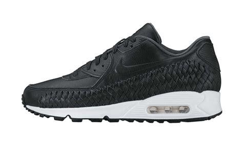 Nike Air Max 90 Woven All White nike air max 90 woven black white fastsole