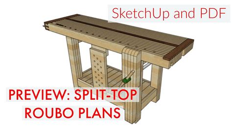 split top roubo plans preview youtube