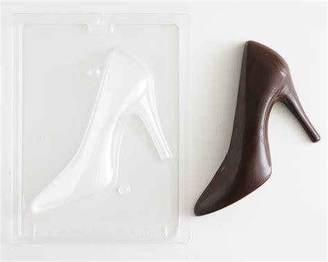 high heel shoe chocolate mold back cakegirls