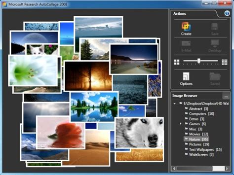 Autocollage Automatically Create Amazing Collage From Powerpoint Photo Collage Template