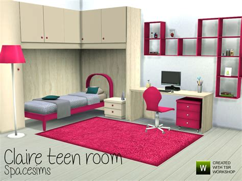 bedroom for 4 kids spacesims claire teen room