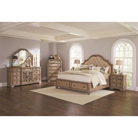 california king storage bedroom sets ilana 4pc california king storage bedroom set