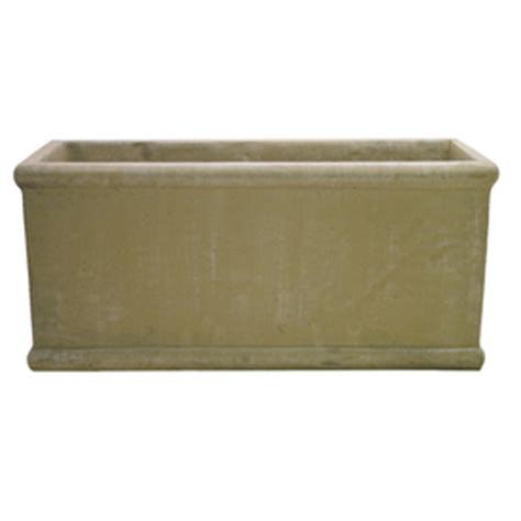Lowes Concrete Planters by Shop 33 In X 15 In Desert Sand Concrete Planter At Lowes