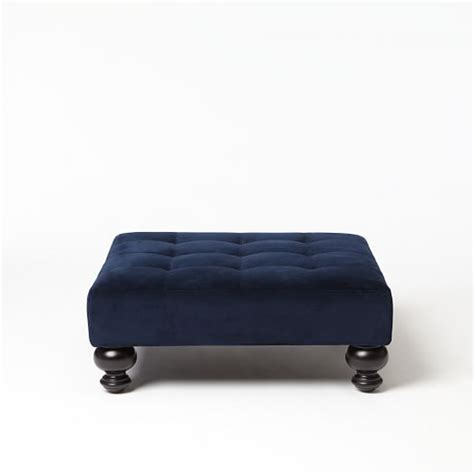 west elm tufted ottoman essex upholstered ottoman west elm