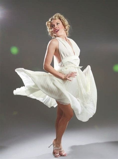 marilyn monroe white halter dress extract  sew