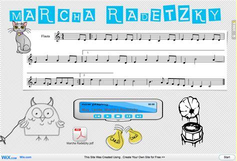la marcha radetzky marcha radetzky a la flauta eduplaneta musical