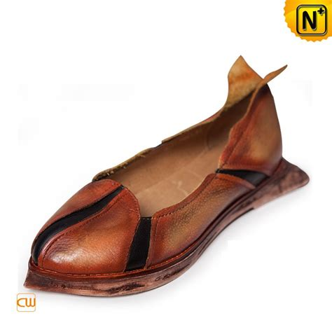 comfortable flat designer leather flats shoes for women cw305147