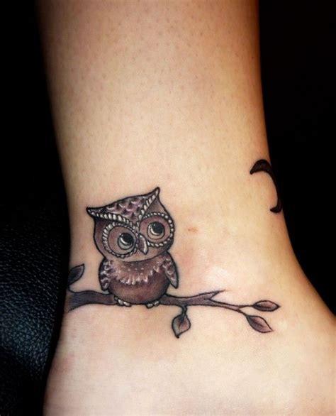cute small owl tattoos owl tattoos elaxsir
