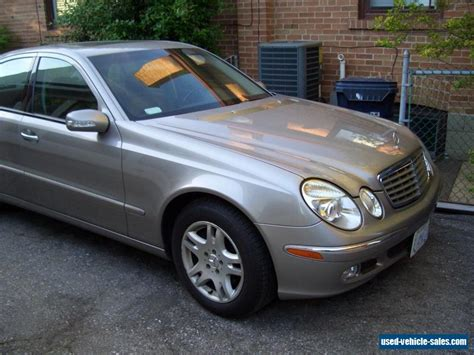 Mercedes 2004 For Sale by 2004 Mercedes E Class For Sale In Canada