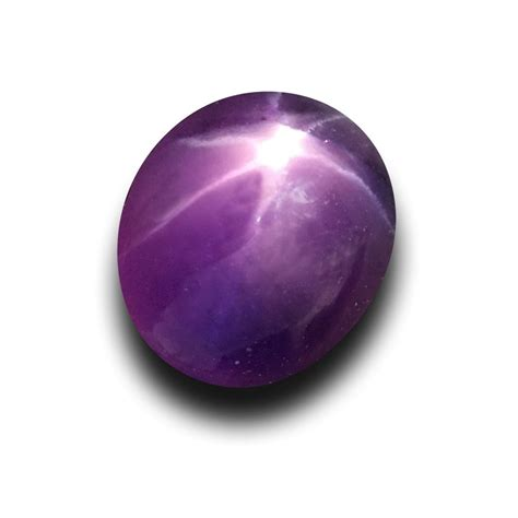 1 21 cts unheated purple sapphire new sri