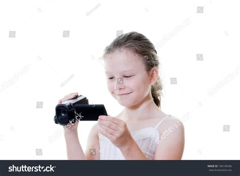 preteen webcams preteen girl video camera stock photo 106146596 shutterstock