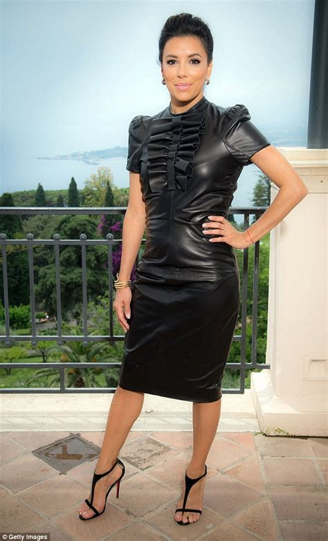 Steps To Dressing For A Festival by Longoria Steps Out At Taormina Festival In Tight