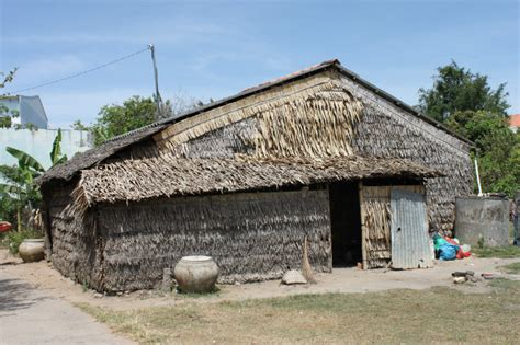 poor house a poor house of the khmer people photo