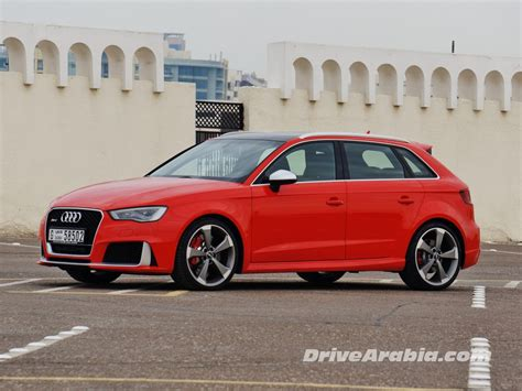 Audi A3 Sportback Quattro Test by 2016 Audi Rs3 Quattro Sportback Drive Arabia
