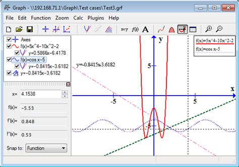 graphing software graph plotting of mathematical functions