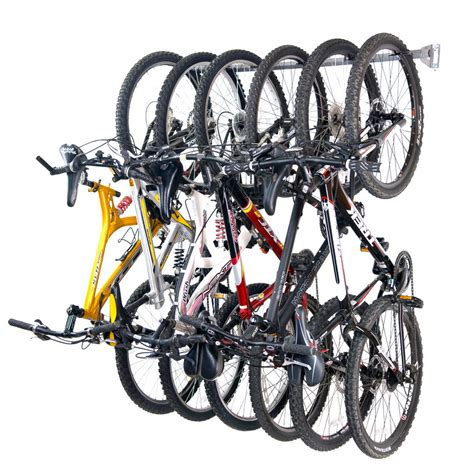 Garage Bike Storage 6 Bike Rack Organizing Pros