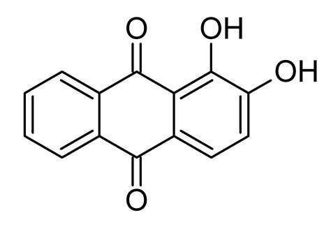 sträucher file alizarin chemical structure png wikimedia commons