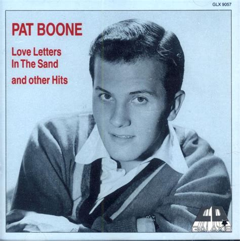 Letter In The Sand Pat Boone Lyrics Pat Boone Quot Letters In The Sand Quot And Other Hits Import