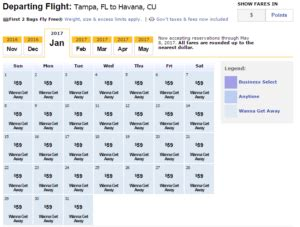 make my trip fare calendar flights fly ta to on southwest airlines accounting