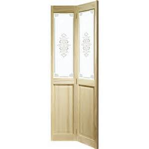 Bifold Glass Doors Buy Clear Pine Bi Fold Door With Cion Glass Laver
