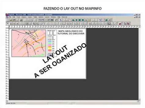 tutorial arcgis georreferenciamento mapinfo layout doovi