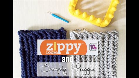 zippy loom creations 20 easy knitting projects books how to loom knit a cowl in 30 minutes using zippy loom