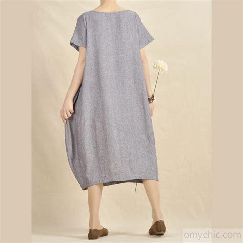 natural linen l light blue oversize maxi dress natural linen cotton fabric