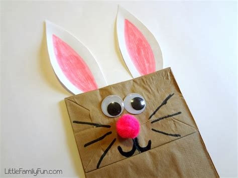 Paper Bag Bunny Craft - 5 best children s rabbit books and crafts artsy craftsy