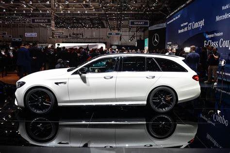 2018 e63 amg wagon 2018 mercedes amg e63 s wagon geneva auto show autotrader