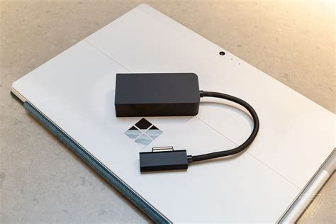 surface laptop 2 adapter three ways microsoft could made a better surface usb c adapter the verge