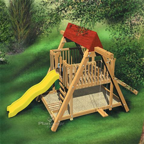 construct a children s playground construction plans rona